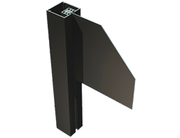HED-200 Frameless Post & Panel Signage System