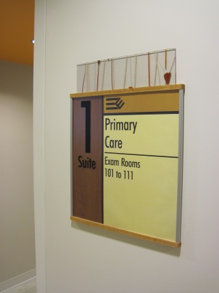 Hospital Interior Indentification Sign