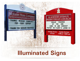Illuminated Signs, Illuminated Sign Cabinets