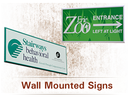 Dss Wall Mount Sign System Signage System Howard Industries