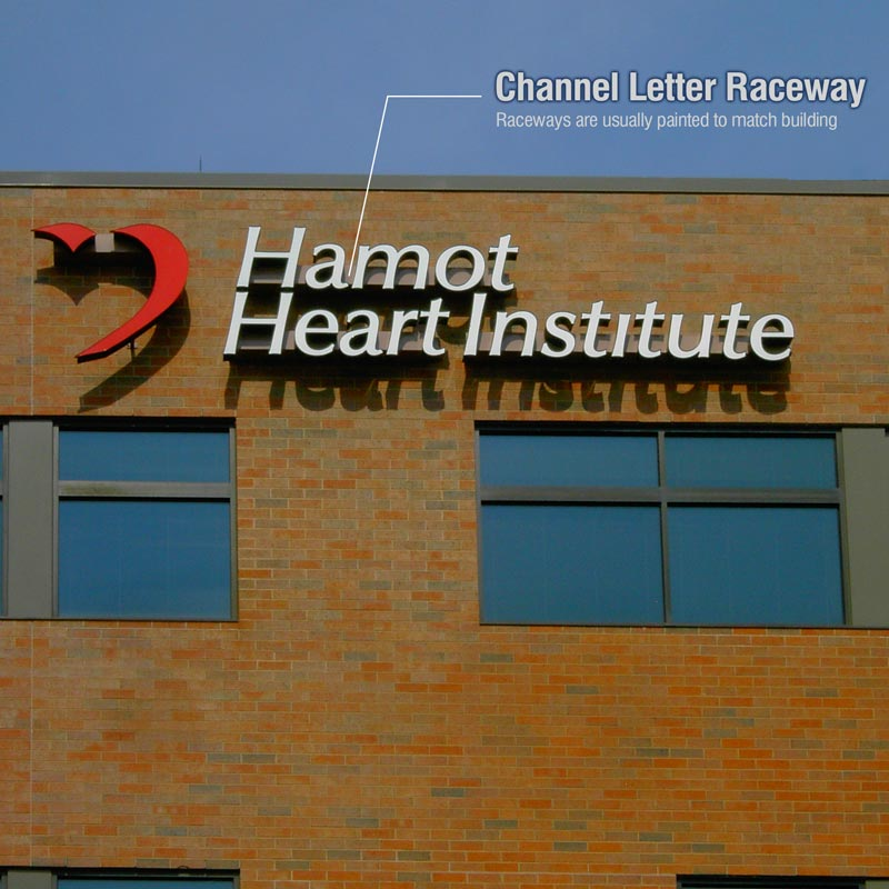 Channel Letter Raceway Extrusion Howard Industries