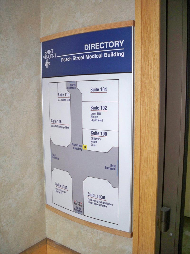 interior directory signs for New Rochelle NY