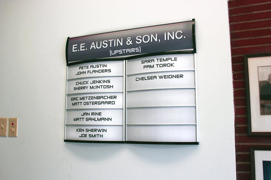 Directory Signs For Interior Building Directory Signage