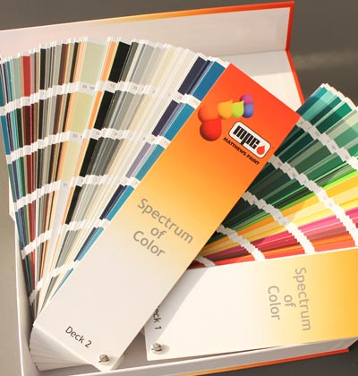 Paint Finishes Matthews Paint Chart Booklet