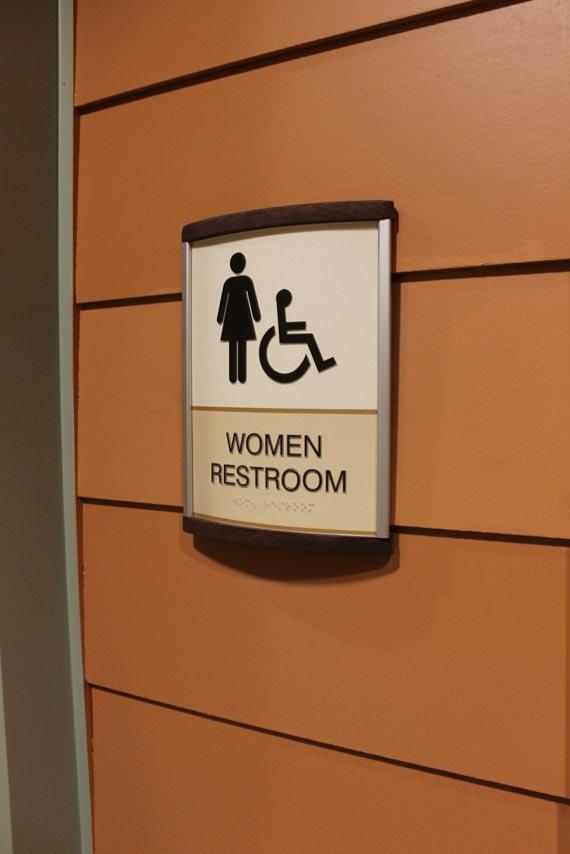 ADA Compliant Restroom Signage
