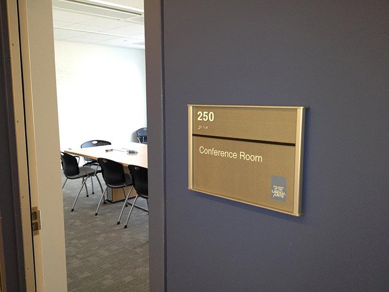HID ADA Compliant Interior Room ID