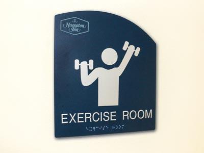 Acrylic ADA Compliant Interior Sign