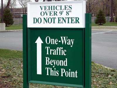 HED-150 Directional Sign