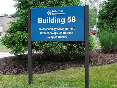 HED-225 Building ID Sign