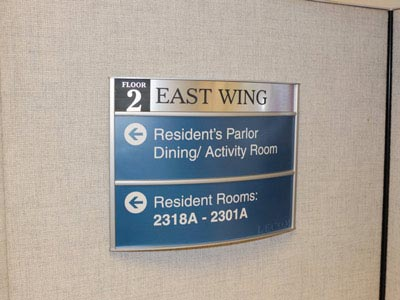 HID Directional Signage