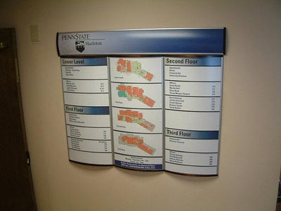 HID Building Directory Signage